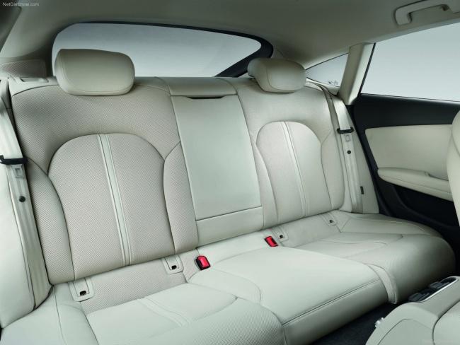 Задний ряд кресел Audi A7 Sportback