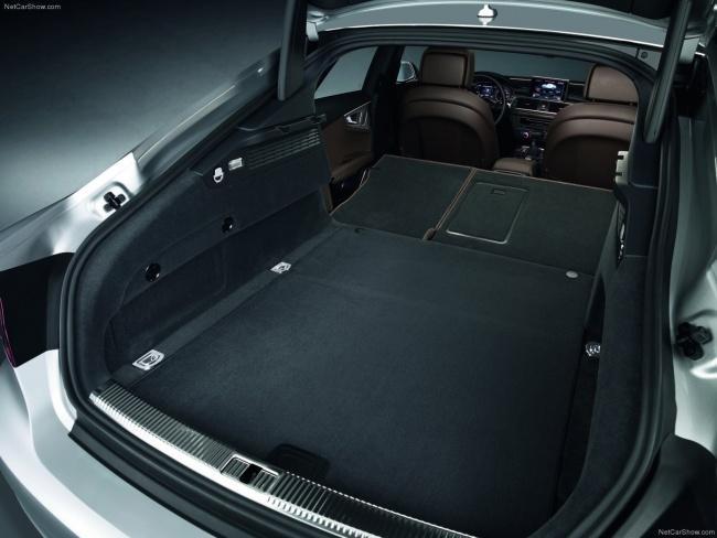 Багажное отделение Audi A7 Sportback