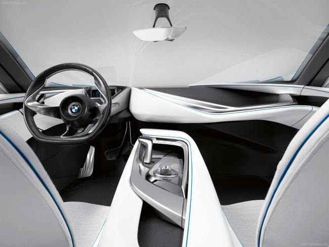 Передний ряд сидений BMW Concept Vision EfficientDynamics