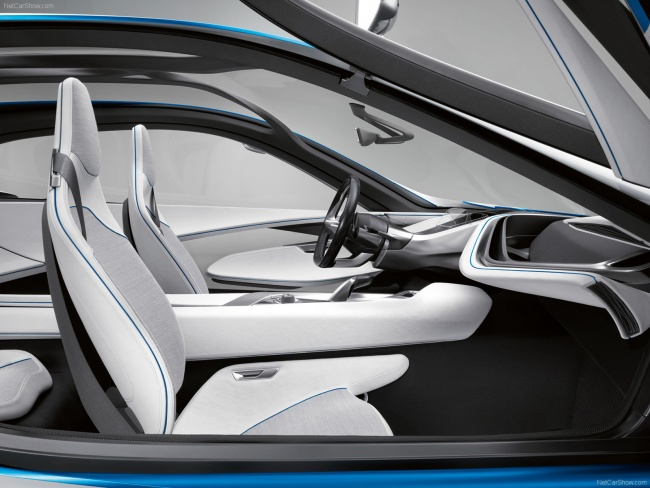 Интерьер BMW Concept Vision EfficientDynamics