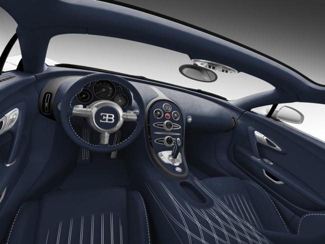 Bugatti Veyron Grand Spor tRoyal Dark Blue Special Edition