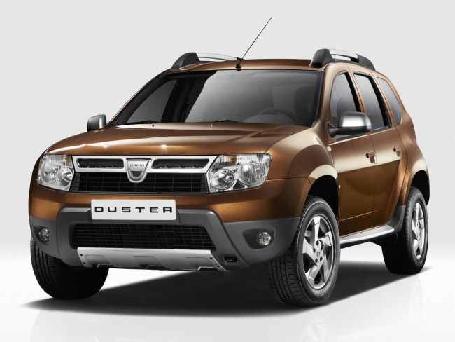 Московская премьера Dacia Duster пройдет в августе