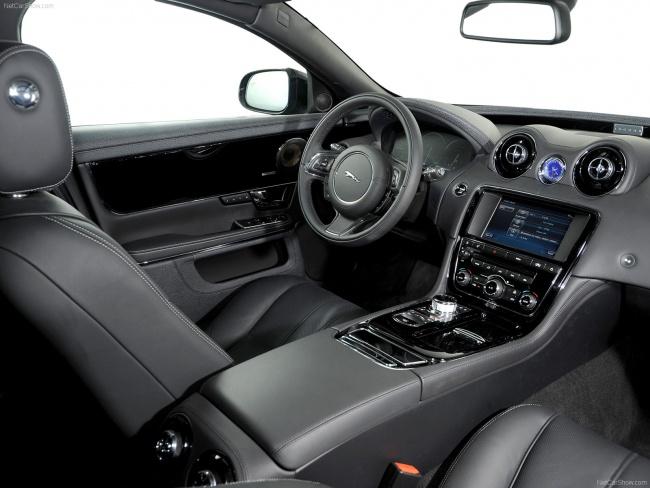 Передний ряд сидений Jaguar XJ Sentinel