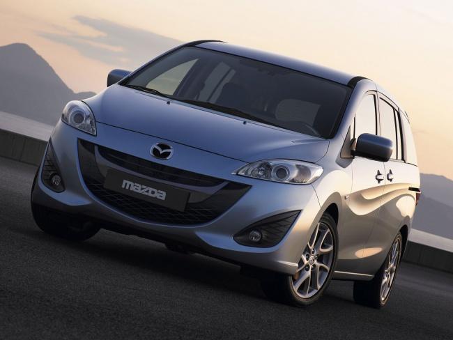 Российская премьера обновленной Mazda5 пройдет на ММАС-2010
