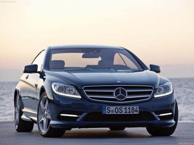 В Великобритания прошла презентация нового Mercedes CL-Class 2011