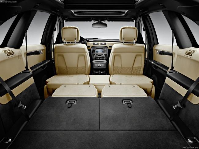 Багажное отделение Mercedes-Benz R-Class