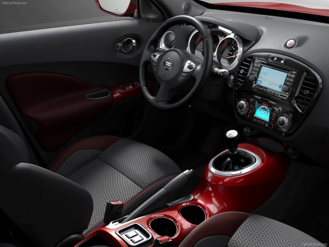 Интерьер нового Nissan Juke
