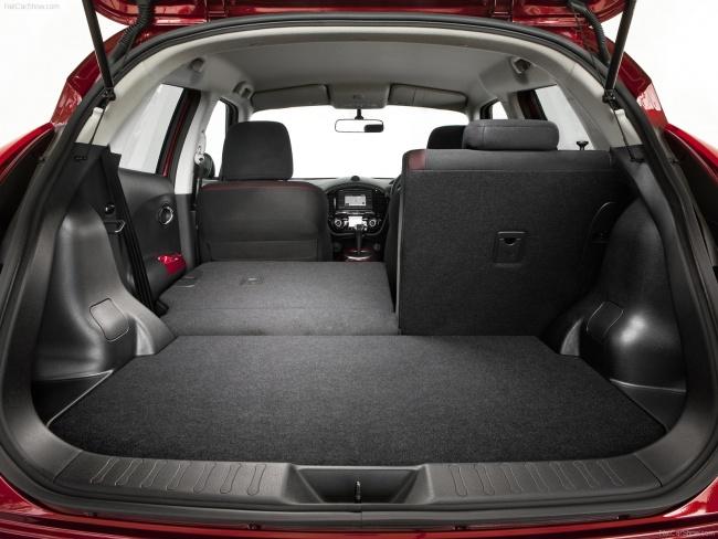 Салон нового Nissan Juke