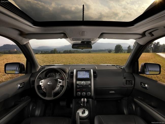 Интерьер обновленного Nissan X-Trail
