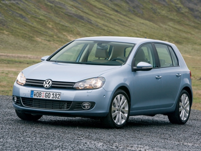 Падают российские цены на Volkswagen Golf