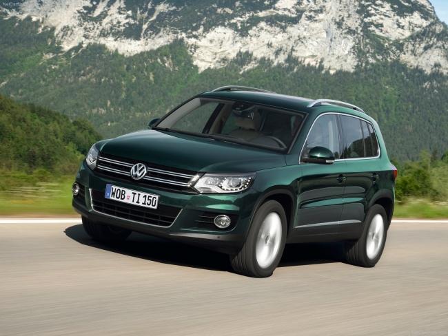 Названы российские цены на новый Volkswagen Tiguan