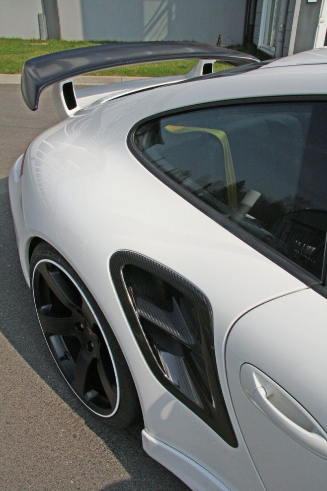 Mansory Tuning Program for Porsche 997 Turbo