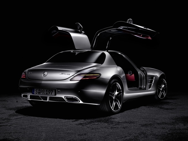 2010 Mercedes-Benz SLS AMG gullwing