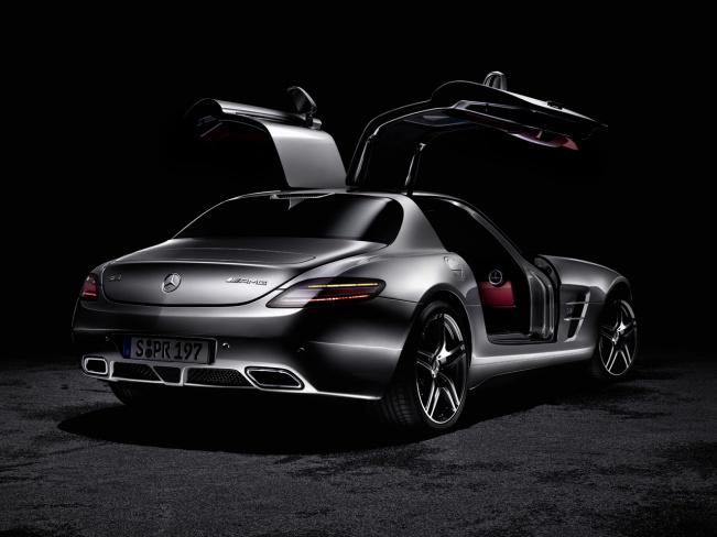 2010 Mercedes-Benz SLS AMG gullwing